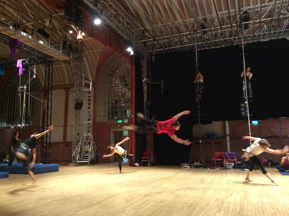 European Aerial Dance Festivals